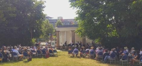 Concert dans le parc